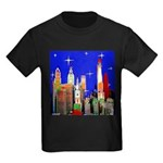 Philadelphia Starry Night Kids Dark T-Shirt
