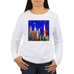 Philadelphia Starry Night Women's Long Sleeve T-Sh