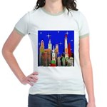 Philadelphia Starry Night Jr. Ringer T-Shirt