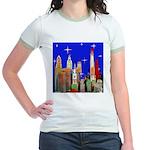 Philadelphia Starry Night Jr. Ringer T-Shirt