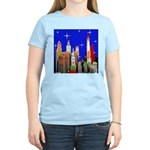 Philadelphia Starry Night Women's Light T-Shirt