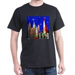Philadelphia Starry Night Dark T-Shirt