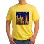 Philadelphia Starry Night Yellow T-Shirt