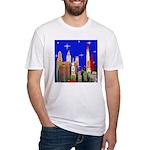 Philadelphia Starry Night Fitted T-Shirt
