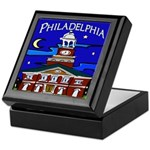 Philadelphia Starry Night Keepsake Box