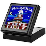 Philadelphia Starry Night Keepsake Box