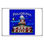 Philadelphia Starry Night Banner
