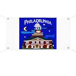 Philadelphia Starry Night Banner