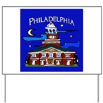 Philadelphia Starry Night Yard Sign