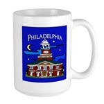 Philadelphia Starry Night Large Mug
