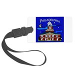 Philadelphia Starry Night Large Luggage Tag