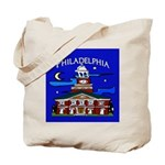 Philadelphia Starry Night Tote Bag