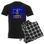 Philadelphia Starry Night Men's Dark Pajamas