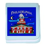 Philadelphia Starry Night baby blanket