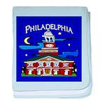 Philadelphia Starry Night baby blanket