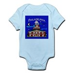 Philadelphia Starry Night Infant Bodysuit