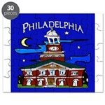 Philadelphia Starry Night Puzzle