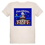 Philadelphia Starry Night Organic Kids T-Shirt