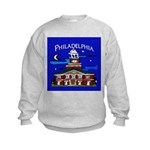 Philadelphia Starry Night Kids Sweatshirt