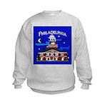 Philadelphia Starry Night Kids Sweatshirt