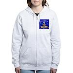 Philadelphia Starry Night Women's Zip Hoodie