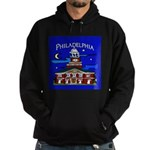 Philadelphia Starry Night Hoodie (dark)