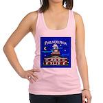 Philadelphia Starry Night Racerback Tank Top