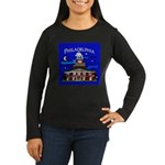 Philadelphia Starry Night Women's Long Sleeve Dark