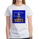 Philadelphia Starry Night Women's T-Shirt