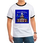 Philadelphia Starry Night Ringer T