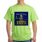 Philadelphia Starry Night Green T-Shirt
