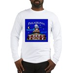 Philadelphia Starry Night Long Sleeve T-Shirt