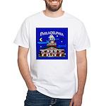 Philadelphia Starry Night White T-Shirt