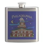 Philadelphia Starry Night Flask