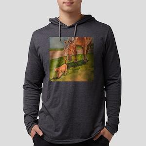 Peanut Mens Hooded Shirt