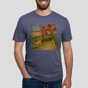 Peanut Mens Tri-blend T-Shirt