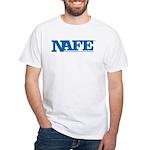 NAFE Logo White T-Shirt