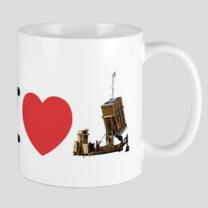 I Love Iron Dome Shirt Mug