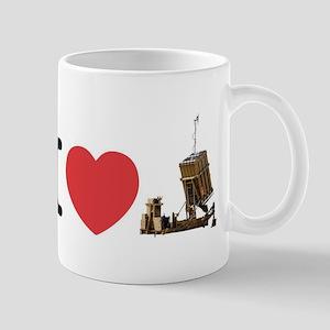 I Love Iron Dome Shirt Mug