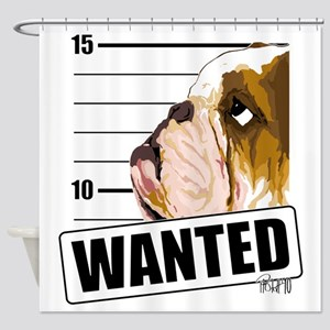 Bulldog5 Shower Curtain