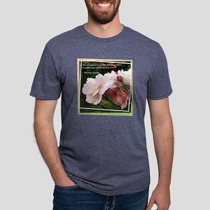 2-Rose_Lincoln Mens Tri-blend T-Shirt