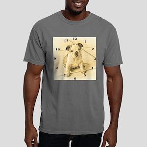 wallclocklgbulldogpup.jp Mens Comfort Colors Shirt