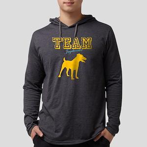 jagdterrierW Mens Hooded Shirt