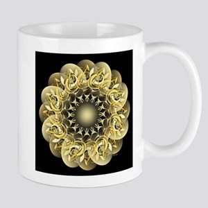 Golden Flower Mug