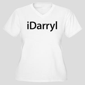 iDarryl Women's Plus Size V-Neck T-Shirt