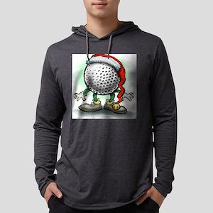 Golf Christmas Tee Mens Hooded Shirt
