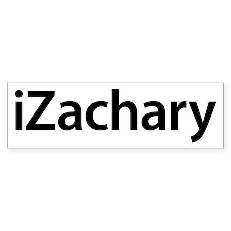 iZachary Bumper Sticker