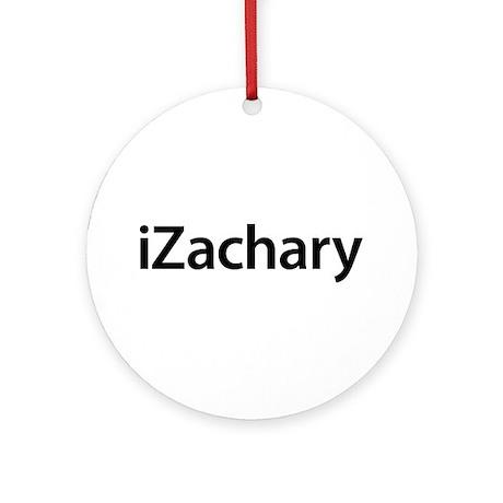 iZachary Round Ornament