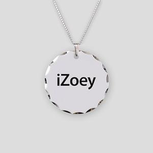 iZoey Necklace Circle Charm
