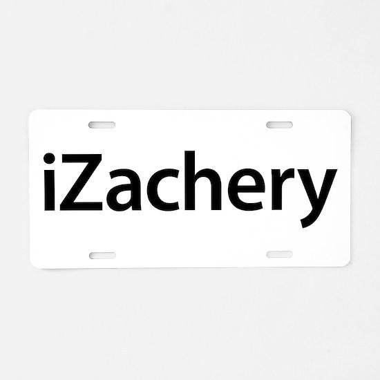 iZachery Aluminum License Plate